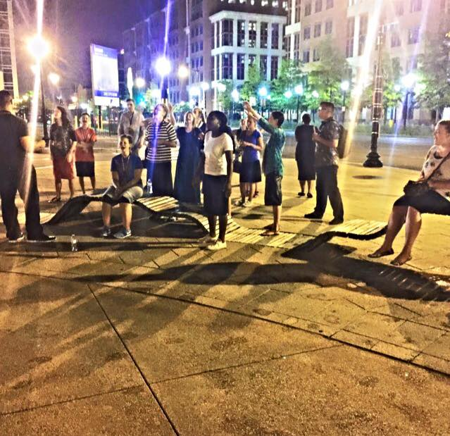 Praying the Streets in Washington, DC | Beyond the Contrast