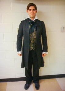 "Ryan as Young Scrooge in Charles Dickens' ""A Christmas Carol"" (2010)"