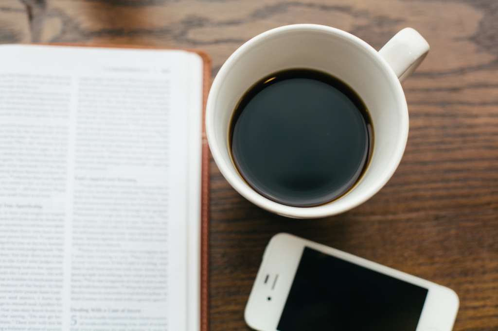 Bible Coffee Beyond the Contrast